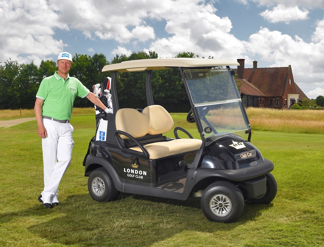 London Golf Club renew contract with Club Car