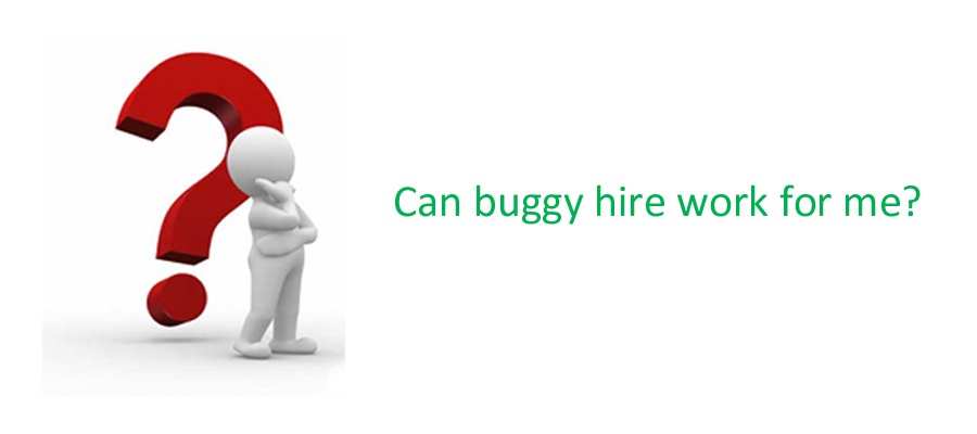 Can buggy hire work for me
